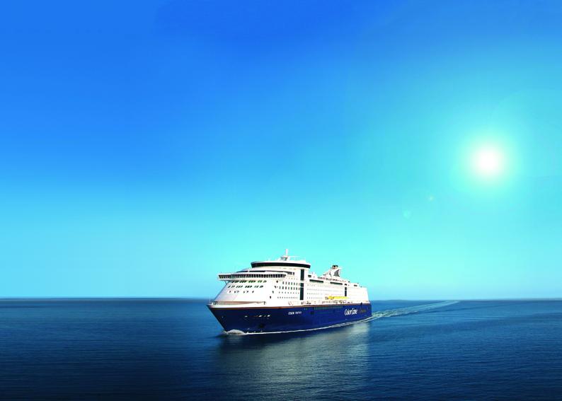 Foto van de Color Line die vaart van Kiel naar Oslo